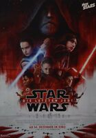 STAR WARS - A3 Poster (ca. 42 x 28 cm) - Plakat Die letzten Jedi Clippings NEU