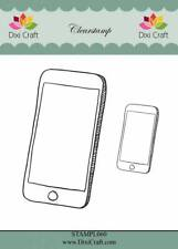 New Dixi Craft Clear Stamps Smartphones