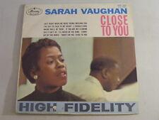 SARAH VAUGHAN Close To You UK 1960 Mercury Jazz LP
