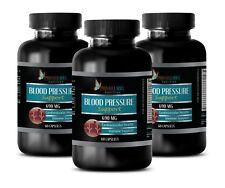 Uva Ursi pills - BLOOD PRESSURE SUPPORT 690MG 3Bot - immune support herbs