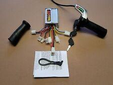 Razor MX500 MX650 EcoSmart Metro Throttle Controller Electrical Kit- WITH KEY -