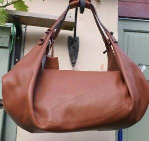 Stunning RADLEY Soho Remastered Large Ziptop Hobo Tan Leather Bag New RRP £299