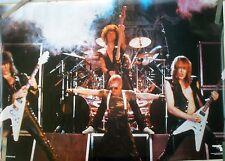 RARE ACCEPT STAGE 1984 VINTAGE ORIGINAL MUSIC POSTER