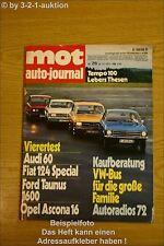 MOT 26/71 VW Bus Fiat 124 Ford Taunus Opel Ascona