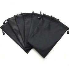 5pcs Sunglasses Eyeglasses MP3 Soft Cloth Drawstring Dust Pouch Carry Bag Black