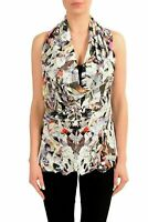 Maison Margiela 1 Multi-Color Women's Blouse Top US M IT 42