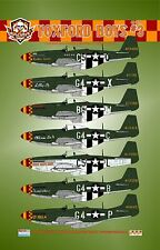 Bullseye Model Aviation 1/48 Decals P-51D Mustang Yoxford Boys #3 BMAD48011