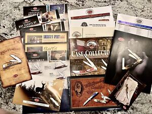 Lot Case & Sons 05-06 Case XX Knives catalogs brochures dealer list literature