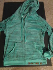 Women's Juicy Couture Velour jacket w/hood sequined design on back new M mint