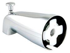 5/8 SLIP ON CHROME BATH TUB SPOUT W SHOWER  DIVERTER  FOR 1/2 COPPER OR CPVC