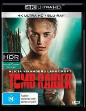Tomb Raider 4K Ultra HD (Blu-ray 2018, 2-disc set) Brand new & sealed