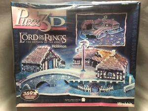 Puzz 3D The Lord of The Rings The Return of The King Hobbiton Sealed Rare