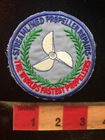 WORLDS FASTEST PROPELLERS Streamlined Propeller Repair Advertising Patch 81V8