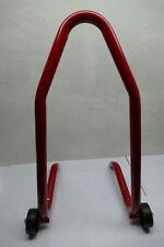 Soporte de motocicleta rojo soporte de montaje motocicleta soporte motocicleta soporte arañazos s2