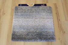 Badteppich Badematte Kleine Wolke Oslo 977 Platin 60x60 cm