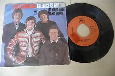 """THE TREMELOES""""SILENCE IS GOLDEN- disco 45 giri CBS Italy 1967"""" RARO"""