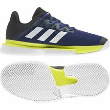 adidas SoleMatch Bounce men tennis shoes - Blue/Black/Green GY7645