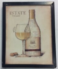Estate White Vineyards Wine Refrigerator Fridge Magnet PreownedKitchen.com