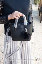 BNWT GUESS BALDWIN PARK Mini Tote Crossbody Messenger Shoulder Bag Black