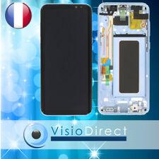 Vitre tactile + Ecran LCD sur chassis pour Samsung Galaxy S8 Plus G955F bleu