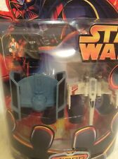 2005 Hasbro, Star Wars Micro Vehicles, X-Wing & Darth Vader's TIE