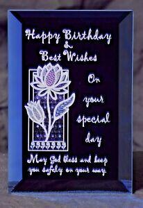 Happy Birthday - A Birthday Keepsake Plaque