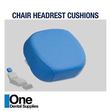 Dental Chair Headrest Cushions Beige Color 2 pcs
