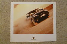 2005 Porsche Cayenne S Showroom Advertising Poster RARE!! Awesome L@@K