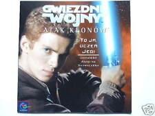 ►Polish storybook Star Wars Anakin Skywalker jedi STAR WARS ATTACK OF THE CLONES