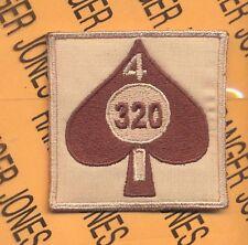 2-320th Div ARTILLERY 101 Airborne HCI Helmet patch A