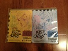 J Scott Campbell SDCC 2012 Sketchbook Set Ruff Stuff Vol 1 & 2 HTF Artbook