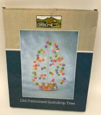 Gumdrop Tree Candy Serving Tray Tidbits Tiny Ornaments Plastic Holiday Easter
