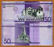 Dominican Republic, 50 Pesos Dominicanos, 2017 (2019), P-New UNC > New design