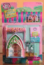 RARE 1996 Vintage Kenner Littlest Pet Shop Mini Surprise Families Frog Chapel