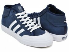 NEW ADIDAS MATCHCOURT MID BY3203 MENS US13 AUS 12 NAVY WHITE SKATE SHOES SNEAKER