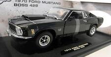 Motormax 1/18 escala Diecast - 73100TC 1970 Ford Mustang Boss 429 Negro