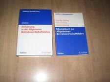 Wöhe, Einführung in die Allgemeine Betriebswirtschaftslehre + Übungsbuch / Paket