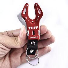 Outdoor camp Large Tiger Buckle Climb Hook Carabiner Clip Lock Keychain Keyring