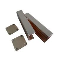 Aluminium Gehäuse Box Platinen Sicherheit Elektronik Netzteil Montage 35.7x60mm