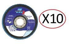 Lot 10X Disque à lamelles Norton 66623304580 super bleue 3 *NEUF*