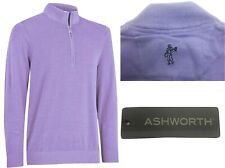 Ashworth Golf Pima Cotton 1/2 Zip Sweater Pullover - RRP£60 - S M L XL XXL