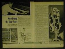 Piano Restoring/Repairing Keyboard Action 1948 HowTo INFO