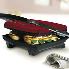 Russell Hobbs Red Toasted Sandwich Press Maker