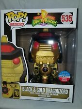 Funko Pop! - Power Rangers Dragonzord (Black and Gold) - NYCC / Toy Tokyo Excl