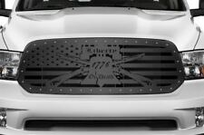 Custom Steel Grille Kit for Dodge Ram 1500 2013-18 Truck Grill LIBERTY OR DEATH