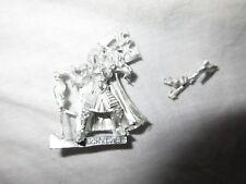 Juegos taller Warhammer High Elf Prince Korhil Leones de metal fuera de imprenta Como Nuevo Blanco Nuevo