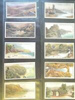 1917 GEMS OF BRITISH SCENERY coastal views set 25 cards Tobacco Cigarette