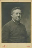 Nadar, Portrait du compositeur Édouard Risler Carte Cabinet, Vintage Print, Jose