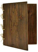 More details for wooden menu holder a4 bar restaurant natural look display list wine - engraving