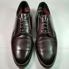 Men's Florsheim Genuine Plain Toe Cordovan Mens Size 9 D
